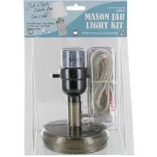 Use this mason jar lamp light kit to create your own lamp in just a twist