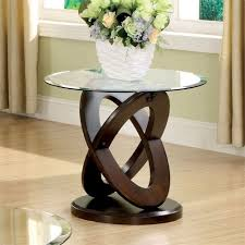 end tables glass top coffee table