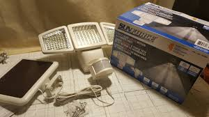 Costco Sunforce Triple Head Solar Motion Activated Light Review