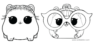 Surprise Coloring Pages Spice Dolls Queen Bee Lols Lol Printable