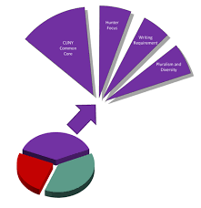 Pie Chart Of College Majors My Degree Hunter College