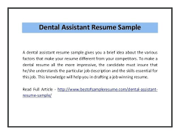dental assistant resume objective resume examples for dental assistant  resume examples and free entry level dental
