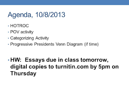 Progressive Presidents Venn Diagram Unit 2 Week 4 Oct Ppt Video Online Download
