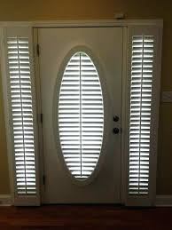 half door blinds. Brilliant Door Door Sidelight Blinds Half Glass Front Curtain For Doors  With Home Panel S