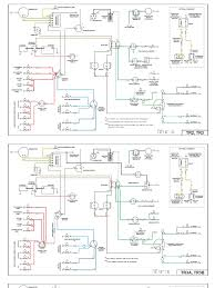 wiring diagrams for tr2, tr3, tr4 and tr4a 1959 triumph tr3 wiring diagram Triumph Tr3 Wiring Diagram #14
