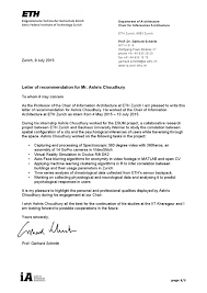 Letter Of Recommendation For Internship Letter Of Recommendation By Ashris Choudhury Issuu