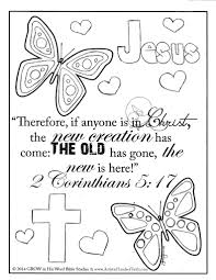 25 Free Printable Bible Coloring Pages With Scriptures Pictures