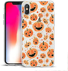 Halloween Pumpkins Clear Phone Case for iPhone 7 ... - Amazon.com