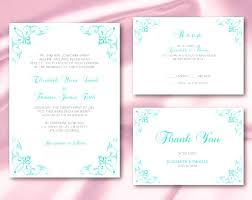 Wedding Invitation Set Templates Office Depot Printable Invitations Wedding Invitation Set Templates