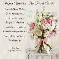 Birthday in Heaven Poem for Mom | Happy-Birthday-My-Angel-Mother ... via Relatably.com