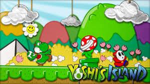 yoshi s island ds fanart background