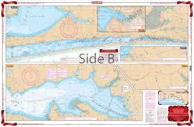 Icw Navigation Charts Fort Walton Beach And Destin Icw Navigation Chart 91