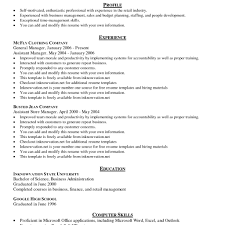 Objective For Sample Nanny Resume Examples Job And Tem Sevte