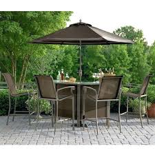 awesome patio dining sets with umbrella for patio bistro set with umbrella outdoor bistro sets