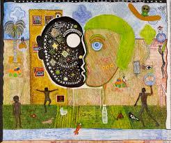 saatchi art human vs mother nature painting by naive john