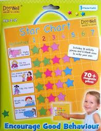 Doowell Activity Charts Doowell Magnetic Star Reward Chart Small