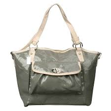 Coach Bleecker Riley Carryall Small Grey Satchels Outlet Sale
