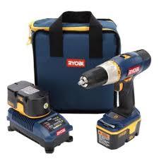 ryobi drill charger. ryobi 1/2 inch 18v cordless drill kit charger d