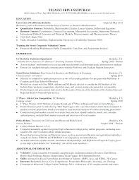 Resume Sample Double Major – Weeklyresumes.co