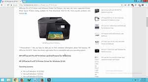It managed solutions are a subset of the hp printer software and are provided for corporate customers. Hp Officejet Pro 8710 Driver And Software For Windows Mac Youtube