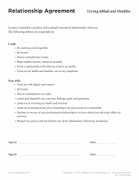 Mutual Agreement Contract 24 Relationship Contract Templates Relationship Agreements 1