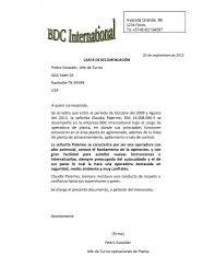 ejemplo de una carta de recomendacion personal modelo carta de recomendacion rome fontanacountryinn com