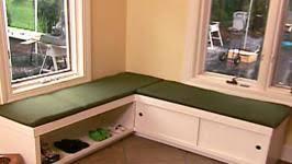 Build a storage bench Dining Build Storage Bench 0100 Diy Network Extra Seating Storage Bench Video Diy