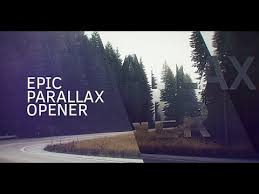 Epic Parallax Opener After Effects Project Videohive Template