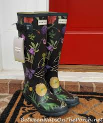 hunter royal horticultural society garden boots other fabulous finds between naps on the porch