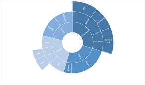 Sunburst Chart In Excel Creating Sunburst Treemap Charts In Excel 2016 System