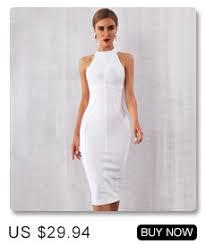 Adyce White Bodycon Bandage Dress <b>Women</b> Vestidos <b>2019</b> ...