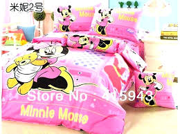 minnie mouse comforter set full – syncmotion