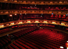 the wonderful red auditorium of the royal opera house covent garden