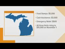 Food Stamps Eligibility Chart Michigan Michigan Eases Ability To Qualify For Public Assistance