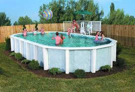 Pool Landscape Design Idea For Above Ground Pool Landscaping Successful Decision For