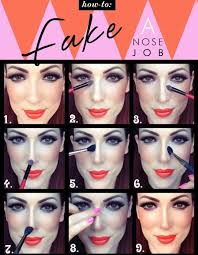 how to make your nose look thinner with