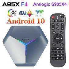 2021 4GB 64GB Plex Media Support Youtube Set Top Box 16GB 32GB 128GB A95X  F4 Amlogic S905X4 Android 10 8K RGB Light Smart TV Box - Best Sale #ACC9