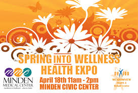 Health Expo Spring Into Wellness Health Expo Greater Minden Chamber