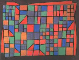 paul klee abstract art artist paul klee glass facade abstractionism wax crayon