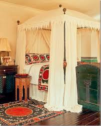 Excellent Moroccan Style Comforters Ideas Canopy Bed Wooden Floor