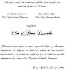 Texto Invitacion Boda Magdalene Project Org
