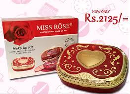 miss rose professional make up kit