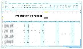 Demand Forecasting Excel Template Demand Allocation Excel Example