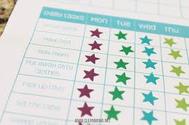 Daily Chore Chart Ideas Simple Chore And Reward System Your Kids Will Love Free