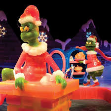 your favorite storybook characters and scenes e to life in a series of elaborate hand carved ice sculptures at the lord opryland resort