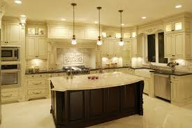 Kitchen Counter Lighting Awesome Black And Cream Kitchen Ideas 4555 Baytownkitchen