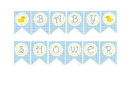 Baby Banners Template Free Printable Banners For Baby Shower Image Cabinets And Shower