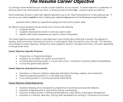 ... List Ofectives For Resumeective Statement Sample Job Resumes Awful Of  Objectives A Resume 1400 ...