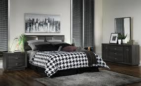 ... 4 Piece Queen Bedroom Set   Deep Grey. Hover To Zoom