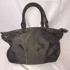 Coach Bags - Coach Madison Sophia Medium Gray Handbag